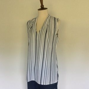 Ann Taylor Factory striped shell